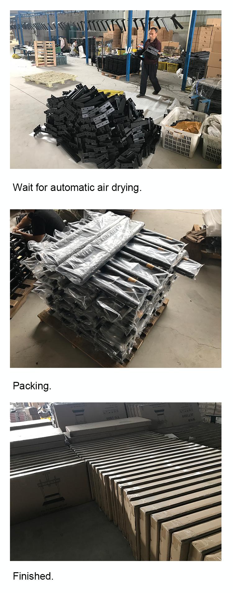 Suporte de parede removível do fabricante da tevê do LCD para a tela da tevê, suporte durável da montagem da parede da tevê