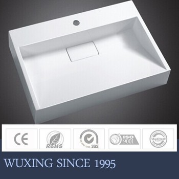 Decorative Rectangular Bathroom Sink Drain Cover