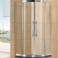 United Kingdom market standard Custom size stainless steel sector moulded shower cabicles KDS-GD1460