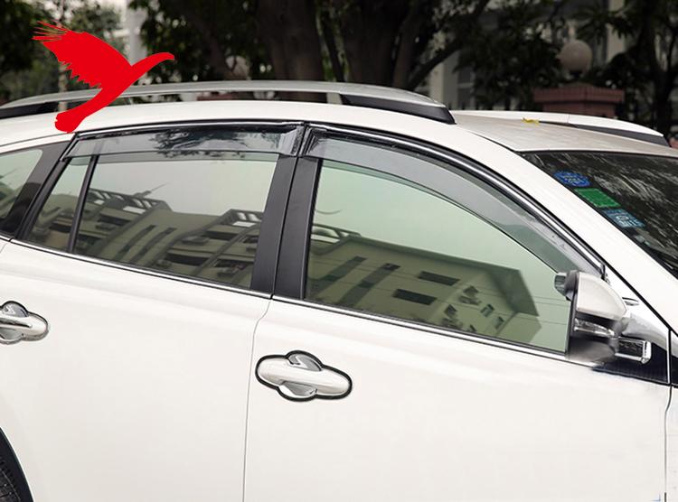 Window Visor Sun Rain Guard for Toyota Land Cruiser Sedan 4dr 1998-2007