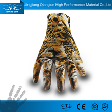 Funky gardening gloves with PU coating
