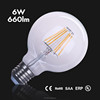 LED Lamp high lumen LED Round Bulb 270 Degree E27 G80 6W LED Lights With CE RoHS Certificate led light bulb dimmable well