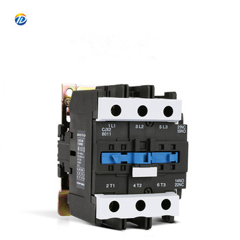 Ac Contactor Magnetic Electrical Overload Relay Mini Contactor ac CJX2-8011