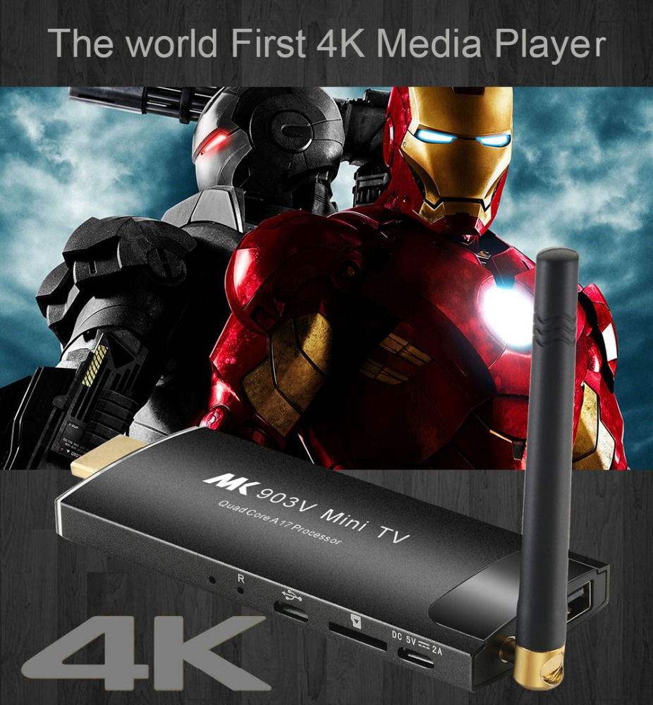 2GB+8/16GB MK903V Android KODI Stick Rockchip RK3288 Tv Box Quad Core MINI TV Android Blu Ray Player