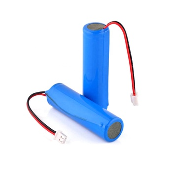 Lithium ion battery 18650 3.7v 2000mah rechargeable li-ion battery with PCM and molex-5264-3pin connector make in china