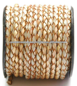 Wholesale Braided Genuine Leather Leather Multi Color