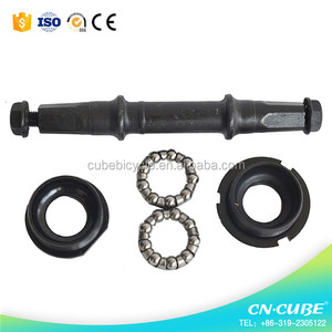 bicycle middle axle middle axle for bike bicycle middle axis for mountain bike