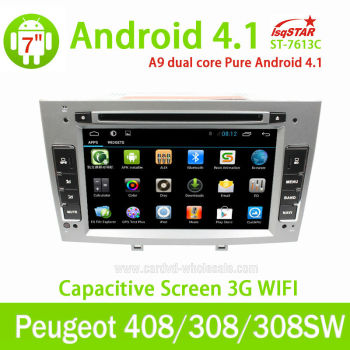 lsq star capacitive android peugeot 308 sw car dvd radio gps navigation with obd 3g wifi multi. Black Bedroom Furniture Sets. Home Design Ideas