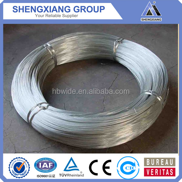 Indian market GI wire electro galvanized wire hot dipped galvanized wire with best price (20 years' factory)