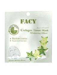Facy : Whitening Collagen Tissue Mask Intense Melanin Block Beauty Product of Thailand ( by abobon )best sellers
