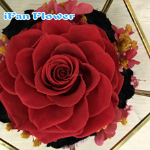 China Red big artifical rose bud flower from ecutor wholesale on alibaba