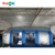 2019 new design car tent 7m mobile inflatable spray booth with filter system