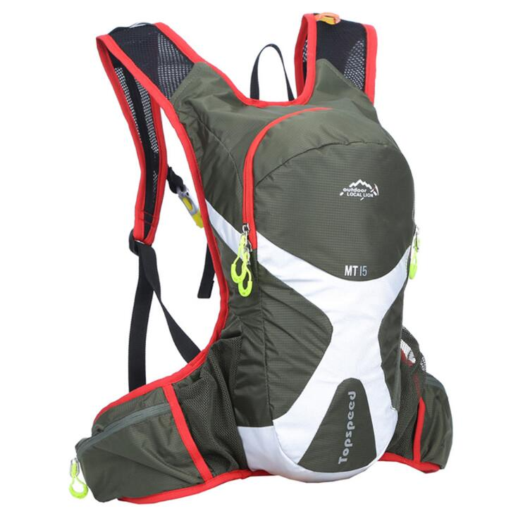 Factory direct sales 15L outdoor backpack riding bag off-road running camel backpack