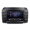 Car DVD Player with GPS play free online games S Class S280 S320 1999 2006