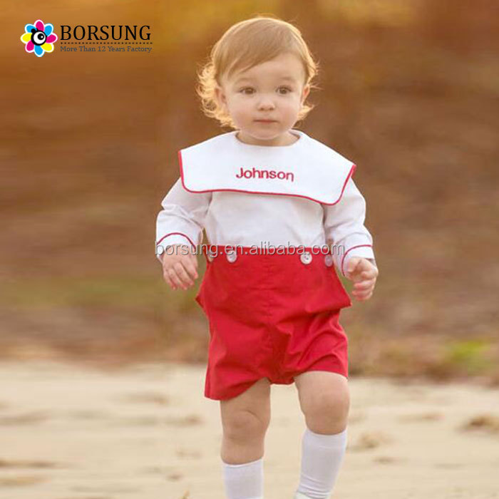 official store cheap prices best authentic Wholesale Children's Boutique Clothing Cute Baby Embroidery Long ...