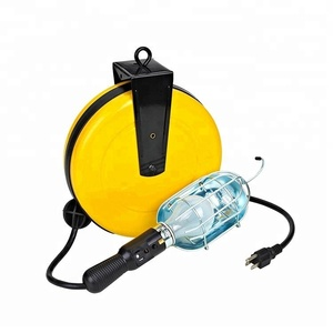 Incandescent Retractable Cord Reel LED Lamp Trouble Work Light