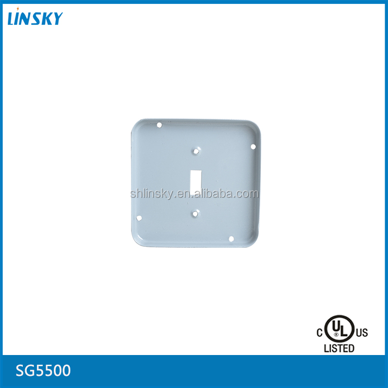 Shanghai Linsky UL listed galvanized sheet lighting touch wall panel switch decorative