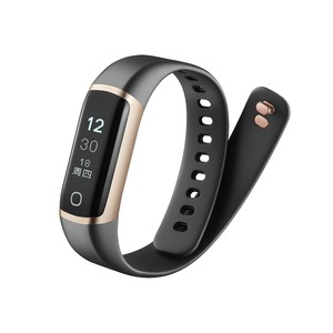 IP68 Waterproof Smart Bracelet Bluetooth Heart Rate Monitor with Touch Screen OLED Display