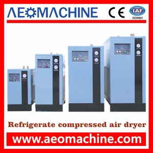 3.8m3 per min air cooling inline compressed air dryer made in Guangzhou