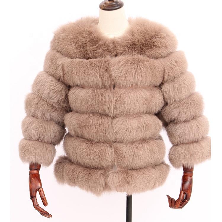 Womens Coats 2018 Winter Fox Fur Coat Blue Fur Coat Womens Faux Fur Coat фото