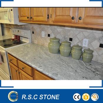 Cheap Indian Viscount White Granite Slabs Kitchen
