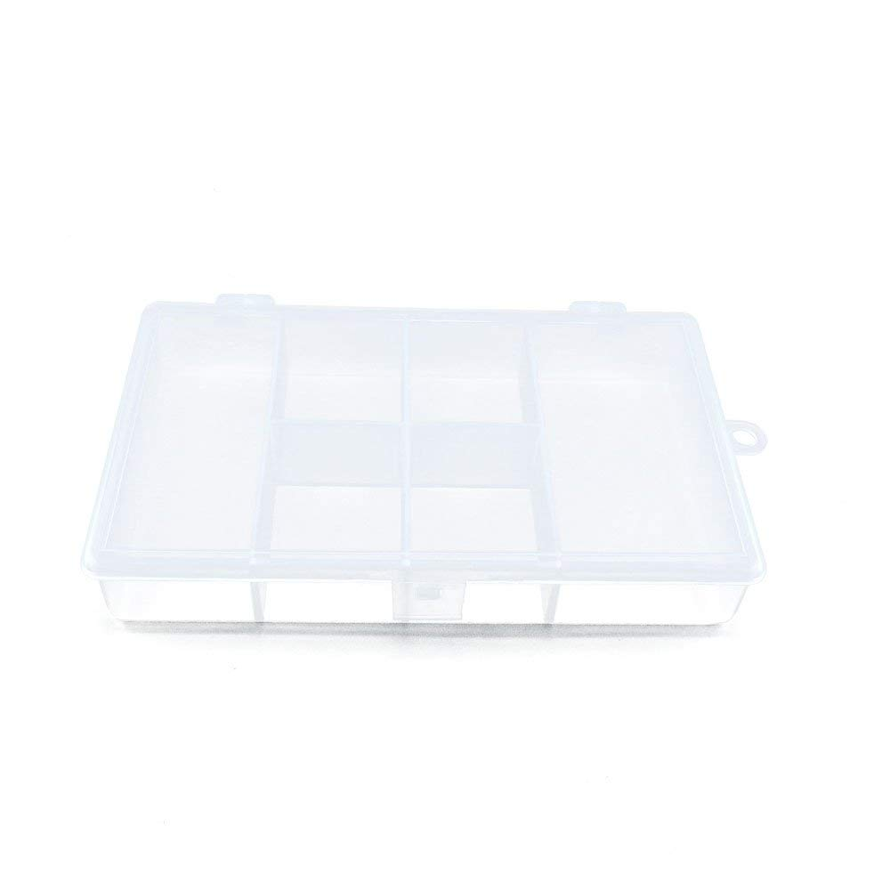 10 PCS Clear Beads Tackle Box Arts Crafts Tackle Storage Plastic Boxes Organizers Containers Case XX028