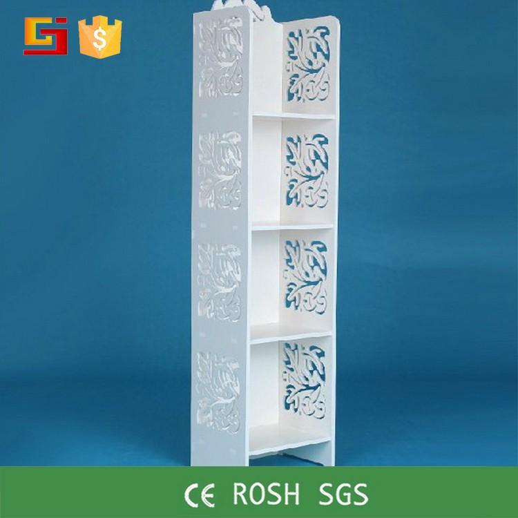 gj edy12030 smalle boekenkast goedkope white wash kubus boekenkast meubilair
