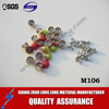 different COLOR half round metal Rivets and Spikes Studs factory for apparel shoes hats