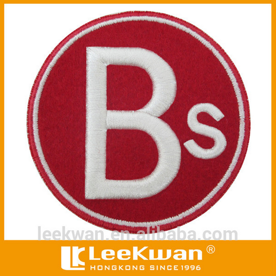 Letters 3d Embroidery Patch,Badge,Applique
