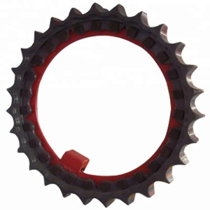 Bulldozer spare parts teeth sprocket price