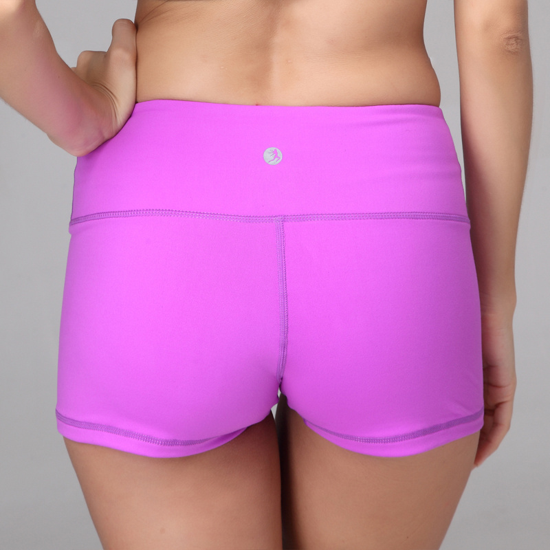 76fc21e95aef4 Latest design sport tight shorts various color womens yoga shorts ...