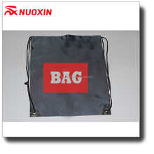 NX custom printing silk screen printing drawstring nylon bag for shopping