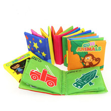 Durable Children Baby Educational toys Soft Cloth Book
