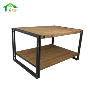 Tea Retro Industrial Furniture Rustic Wood Table
