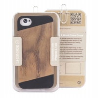 Hot Selling for iphone 5 wood case, cherry wood case for iphone 5s 100% bamboo casings mobile phone covers