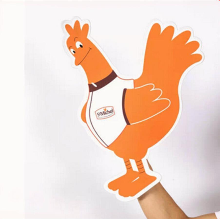 EVA Konkurrent Foam Chicken Shape Handschwamm