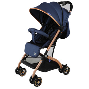 QZ1 bbh baby stroller with rust protector aluminium baby stroller with bag one hand fold up stroller for baby