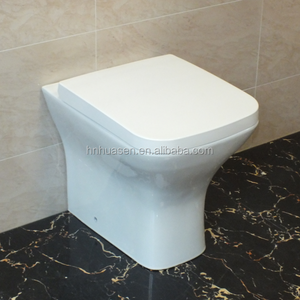 Ceramic Sanitary Ware Back to Wall Toilet Pan with Concealed Cistern For UK
