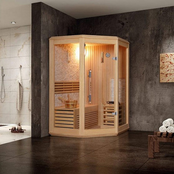Home Use Sauna Steam Room Combination And 3 Kw 6 Or 9