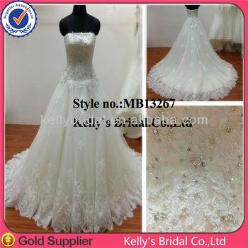 Kelly Bridal Dress Design Ball Gown Wholesale Lace Wedding Dress ...