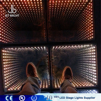 Guangzhou Full Color 3d Infinity Mirror Led Dance Floor