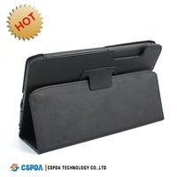 Top quality PU leather cover with standing for Motorola Xoom 2 tablet