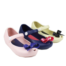 Mini Melissa 2015 Summer  Sandals Cute Bow Girls Sandals Children Bowtie Baby Shoes For Girls Hot Sale Free shipping