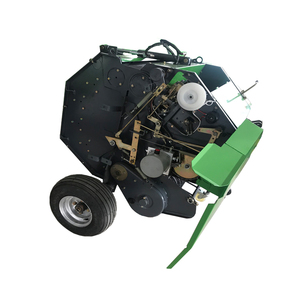 farm tractor ce certificated round hay and straw alfafa baler machine for sale