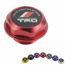 Racing TRD Aluminium Oil cap Tank Cap Cover for Toyota