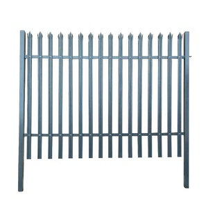 Euro Style Free Standing Metal Palisade Fence / Wrought Iron palisade Fence Panel (Anping factory )