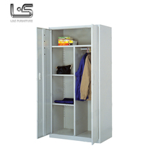 Lightweight custom made steel metal wardrobe with low price
