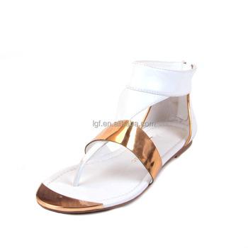 Hot Sale Latest Flat Women Fancy Sandals Shoes 2016 Summer Ladies ...