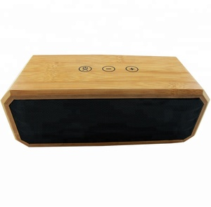 High Quality BT Speakers Wooden USB Wireless Portable MP3 Speaker