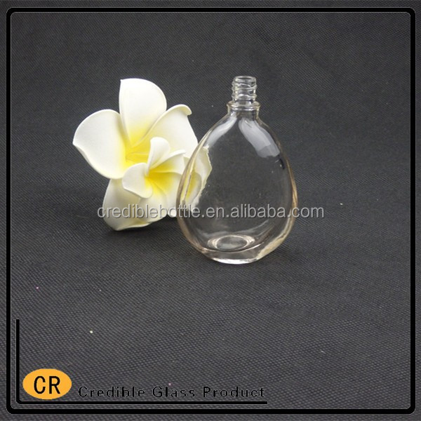 50ml antique perfume glass bottle with atomizer cap